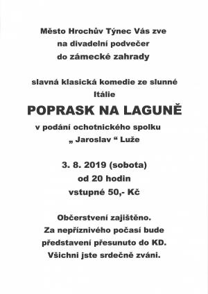 Kalend akc - Oficiln strnka msta Hrochv Tnec